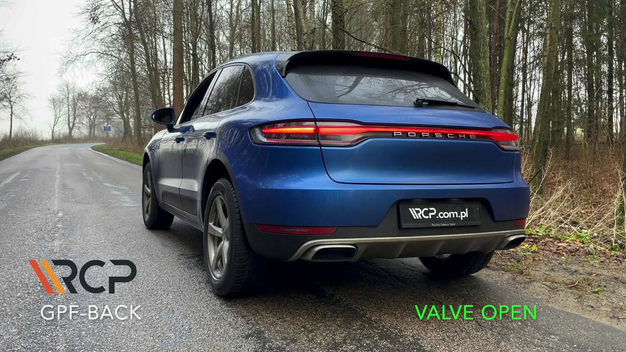 Porsche Macan 2.0T   RCP Exhausts   GPF-Back Exhaust