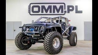 OMM XTR1 Ekstremalne auto z legalizacją drogową