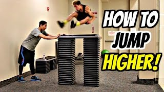 How to: INCREASE YOUR VERTICAL AND JUMP HIGHER! Pt. 3 BOX JUMPS