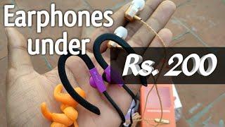 Best Earphones Under Rs 200 in Telugu | Telugu Ultimate