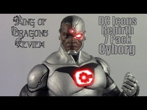 DC Collectibles: DC Comics Icons Rebirth Justice League 7 Pack: Cyborg Review