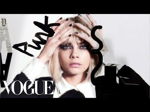 Punk Stories: Cara Delevingne Rocks the Look