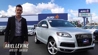 This 2013 Audi Q7 S-Line Prestige has Everything!