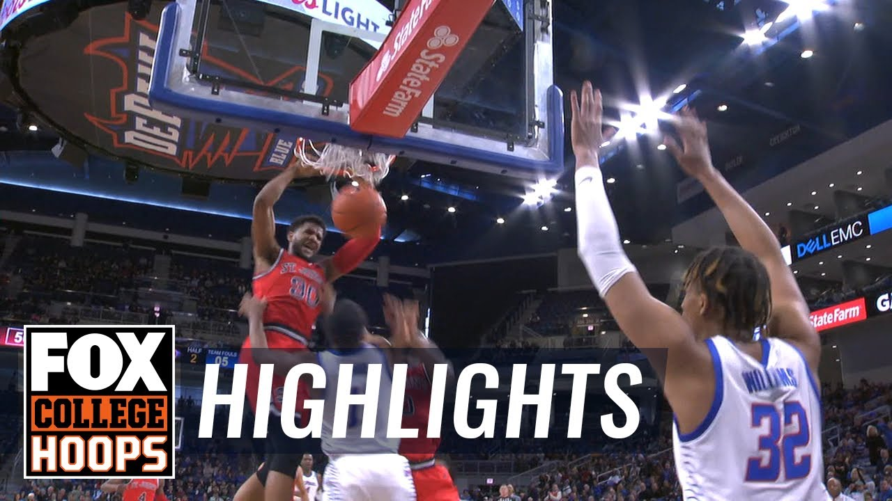 LJ Figueroa's career-high 28 points pace St. John's past DePaul  HIGHLIGHTS