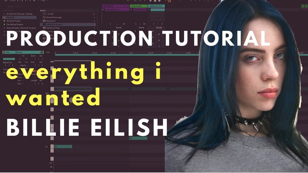 Billie Eilish everything i wanted -  Production Tutorial BREAKDOWN | Beat Academy