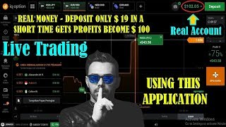 REAL MONEY - DEPOSIT ONLY $ 19 IN A SHORT TIME GETS PROFITS BECOME $ 100 - USING THIS APPLICATION
