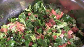Healthy Salad- Fattoush