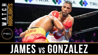 James vs Gonzalez HIGHLIGHTS: February 23, 2019 — PBC on FS1
