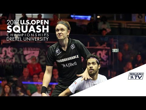 Squash: Men's Rd 1 Roundup Pt. 1 - U.S. Open 2017 Presented by MacQuarie Investment Management
