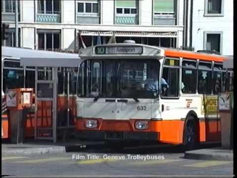 Genève Buses & Trolleybuses in 1990