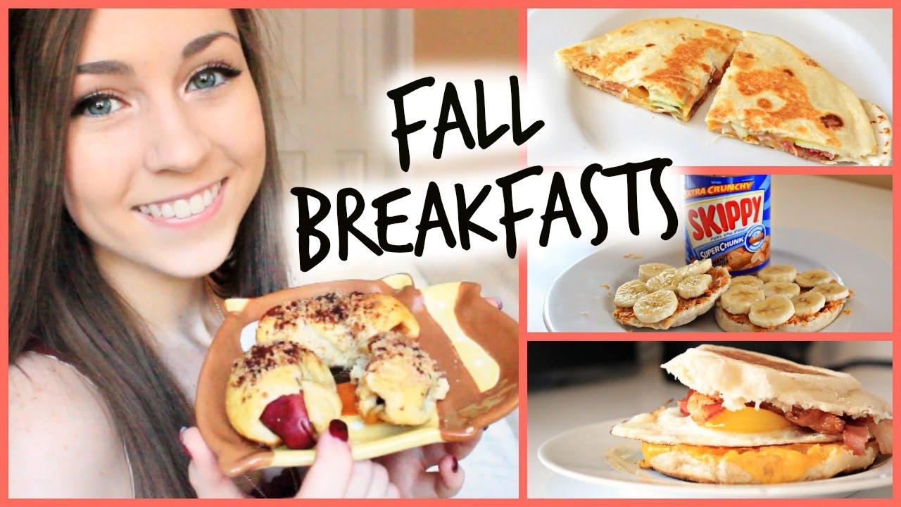 Easy Diy Fall Breakfast Ideas