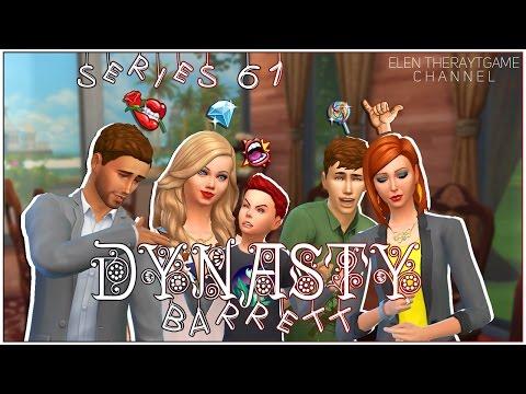 The Sims 4. Династия Барретт. 61 серия. Выходной день.