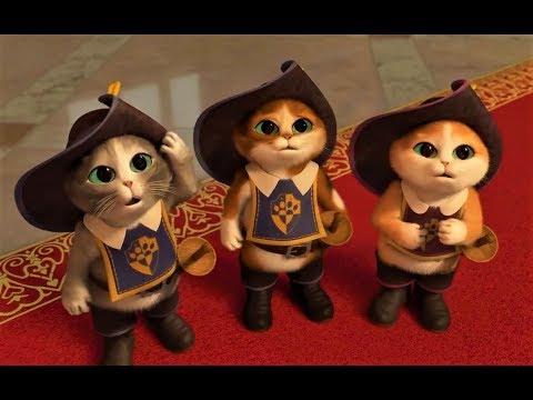 Кот в сапогах и три чертенка мультфильм полная версия