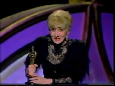 Olympia Dukakis winning Best Supporting Actress for Moonstruck