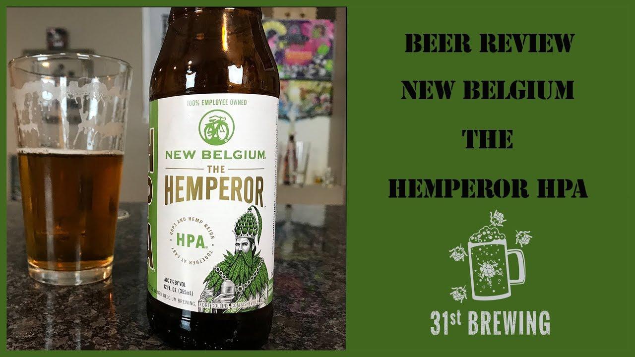 New Belgium Brewing The Hemperor HPA Craft Beer Review