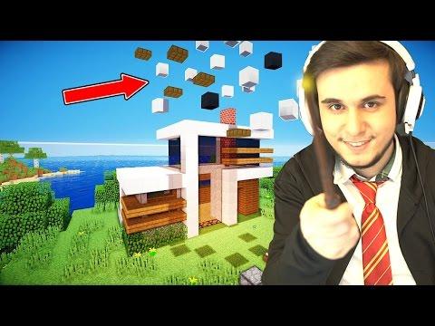 DÜNYANIN EN SİHİRLİ EVİ (MİNECRAFT) - Видео из Майнкрафт (Minecraft)