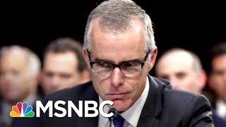 Report: Donald Trump Asked Acting FBI Director Who He Voted For In 2016 | The Last Word | MSNBC
