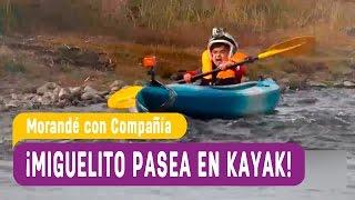 Chile chico - Miguelito de paseo en Kayak - Morandé con Compañía 2016