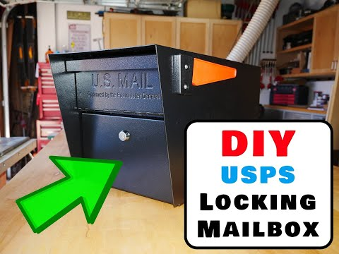 How to Install a Locking Mailbox US Postal Service Approved