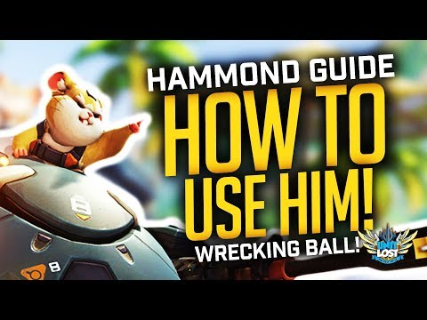 Overwatch - How to Use Hammond! (Wrecking Ball Guide!)