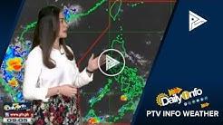 PTV INFO WEATHER: Ridge of HPA, nakaaapekto sa hilagang Luzon