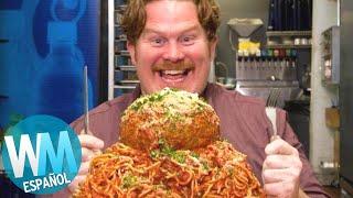 ¡Top 10 RETOS del Programa MAN V. FOOD!