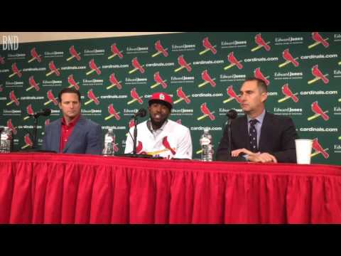 Dexter Fowler suits up with St. Louis Cardinals