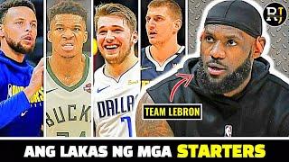 ITO ang LINEUP ng Team LeBron para sa 2021 NBA All-Star