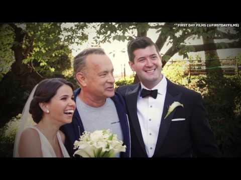 Tom Hanks Crashes Wedding Shoot