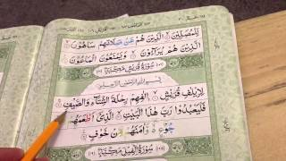 Surah Quraish with brief practical Tajweed