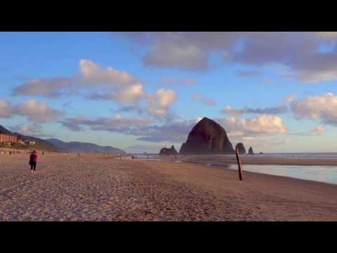 Real 4K HDR: Cannon Beach Oregon HDR UHD (Chromecast Ultra)