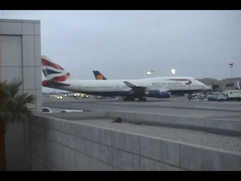 Boeing 747 British Airways at LAX Airport 3 - 050909 - Aviation