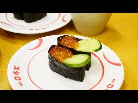 Все суши за 1$ - это вкусно?  Япония  Серия 13