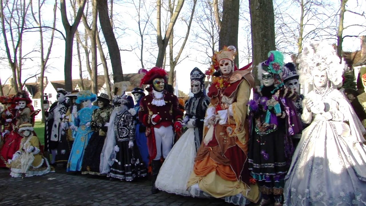 LES COSTUMÉS DE VENISE IN BRUGES 17 JANUARI 2016!