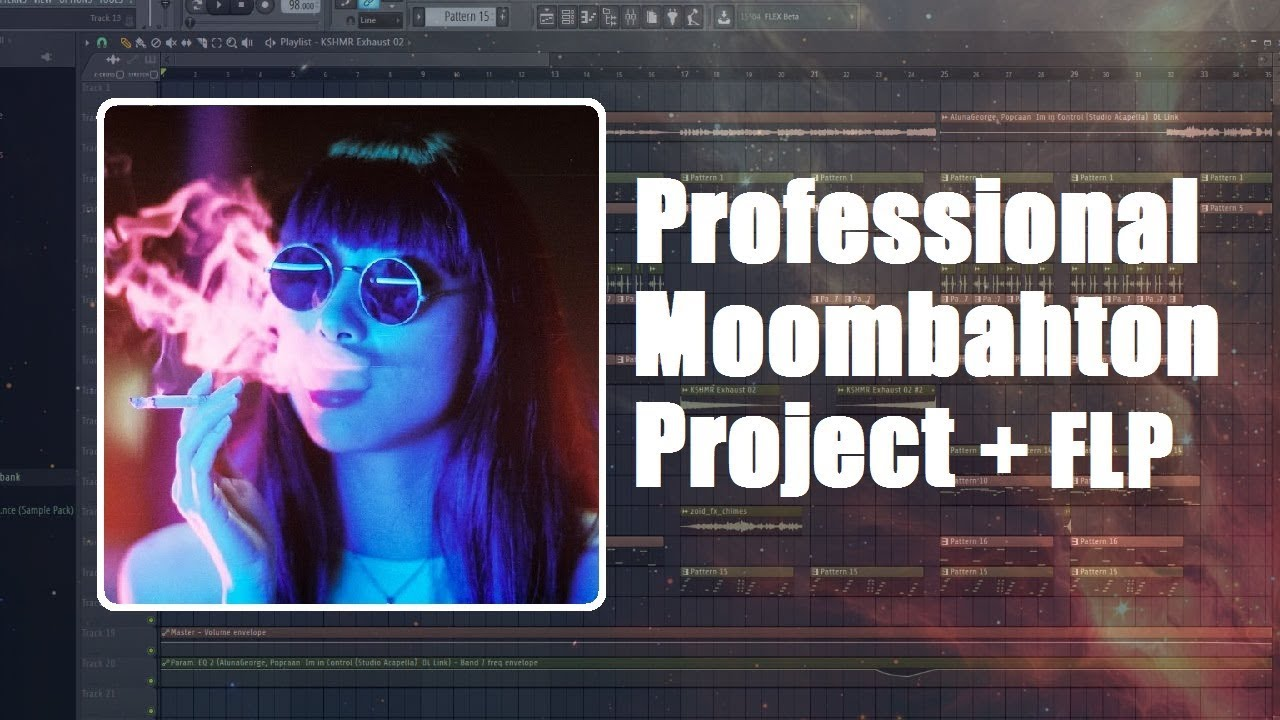 free flp professional moombahton project with vocal chops and acapella fl studio template. Black Bedroom Furniture Sets. Home Design Ideas