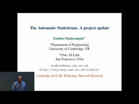 The Automatic Statiscian: a project update