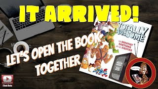 """It's Here! Totally Awesome """"The Greatest Cartoons of the Eighties"""" book. 