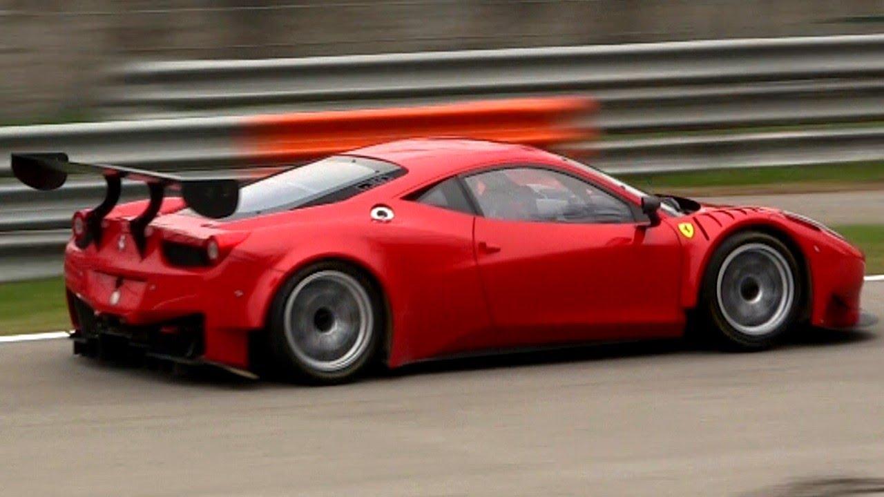 2013 Porsche 997 Gt3 R Vs 2013 Ferrari 458 Gt3 With Loud