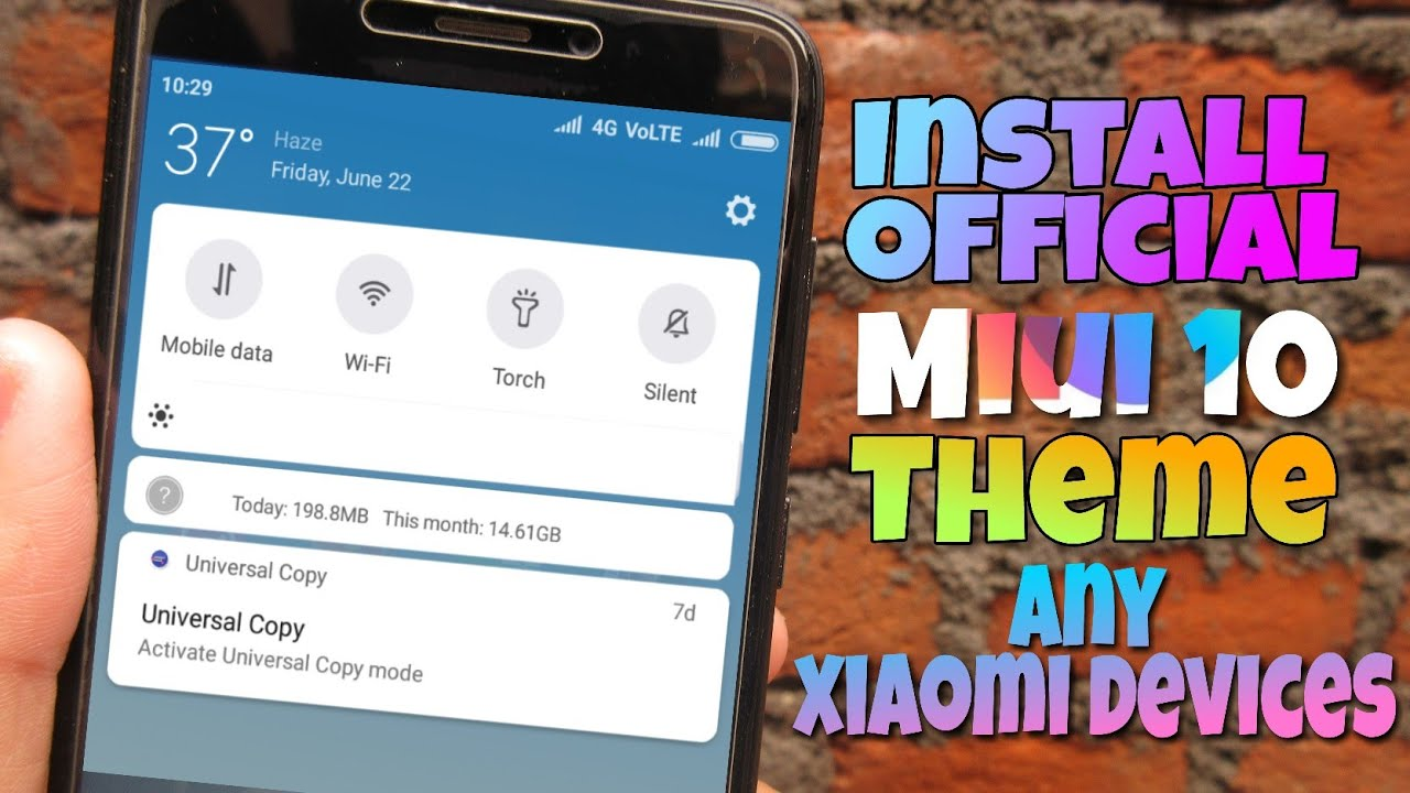 Install MIUI 10 Theme On Redmi 4 And All Other Xiaomi Devices - Manish  Prajapat