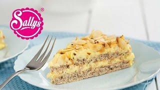 Almondy: Schwedische Mandeltorte - glutenfrei / nachgemacht: Original trifft Sally
