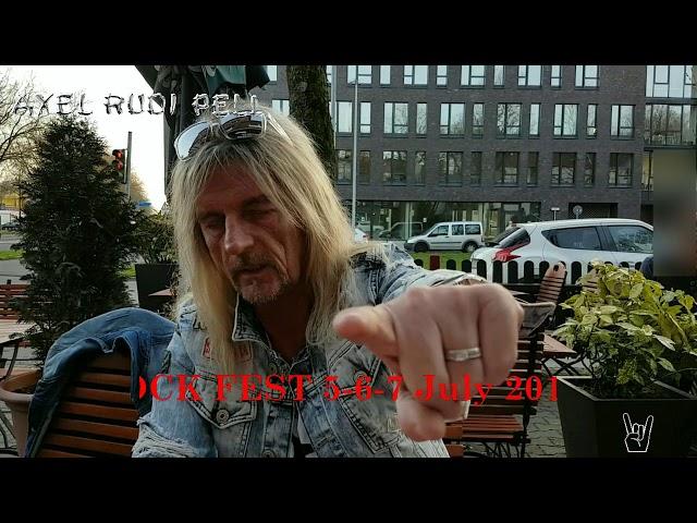 Axel Rudi Pell os espera en Rock Fest Barcelona
