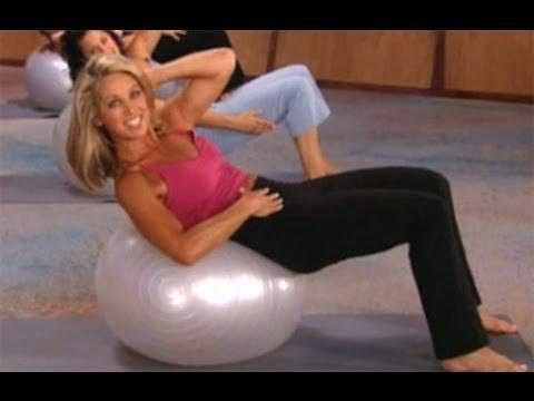 Denise Austin:  Yoga Core Strength Workout