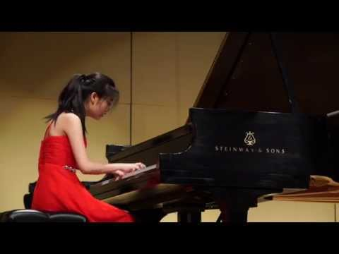 Cliburn Junior 2015 Youlan Ji Semifinal Round Recital