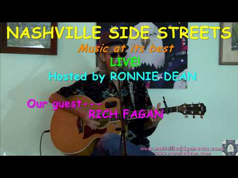 Live HDTV video studio inhouse concerts: RICH FAGAN Tribute re-broadcast