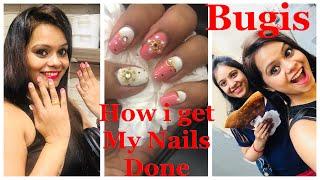 #gelish Nails How I Get My Nails Done    Gelish Nails    Bugis Street
