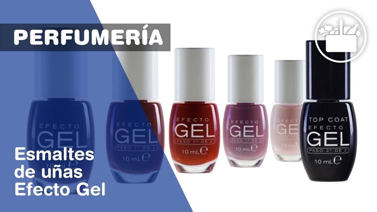 Deliplus: Nuevos esmaltes de uñas Efecto Gel - YouTube