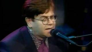 Elton John - Written In The Stars (Live Solo Aida)