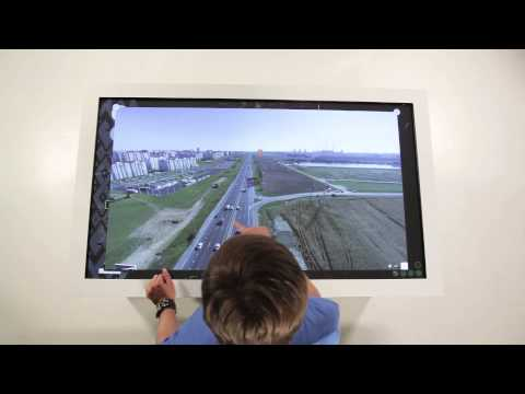 The Future of The City on 55'' Interactive Surface