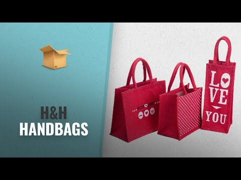Amazing H&H Handbags Collection [2018]: H&B Jute Combo Of 3 Lunch Bag