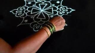 Sankranthi Muggulu Designs  Or Diwali Muggulu   Rangoli Designs With Colours  Sudha Balaji